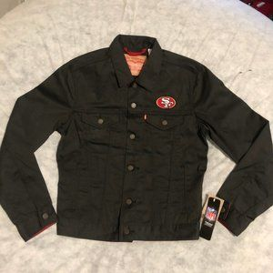 San Francisco 49ers Levis Denim Jacket NFL Trucker